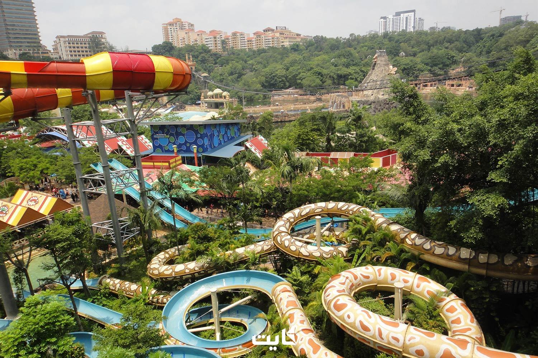معرفی 6 پارک آبی برتر مالزی