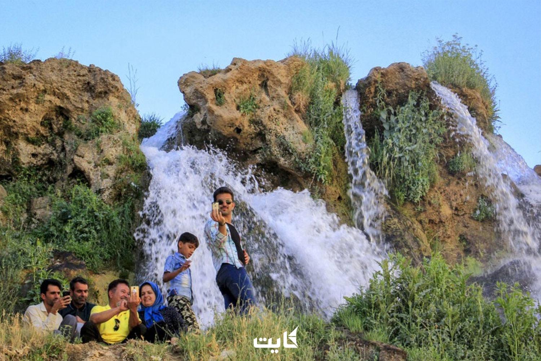 بهترین زمان بازدید از آبشار شیخ علیخان کوهرنگ