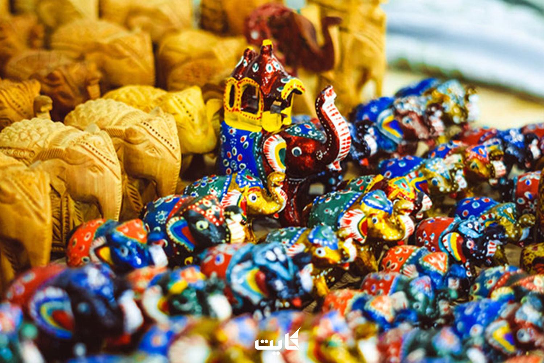 صنایع دستی چوبی از سوغاتیهای مشهور سریلانکا
