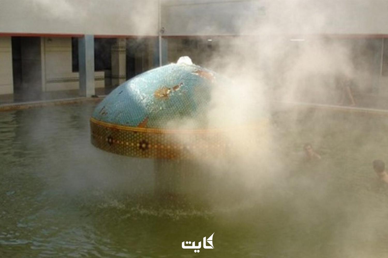 معرفی چشمههای آبگرم محلات