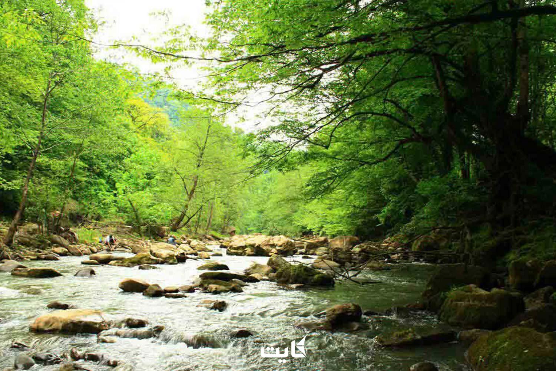 مسیر دسترسی به آبشار ترز