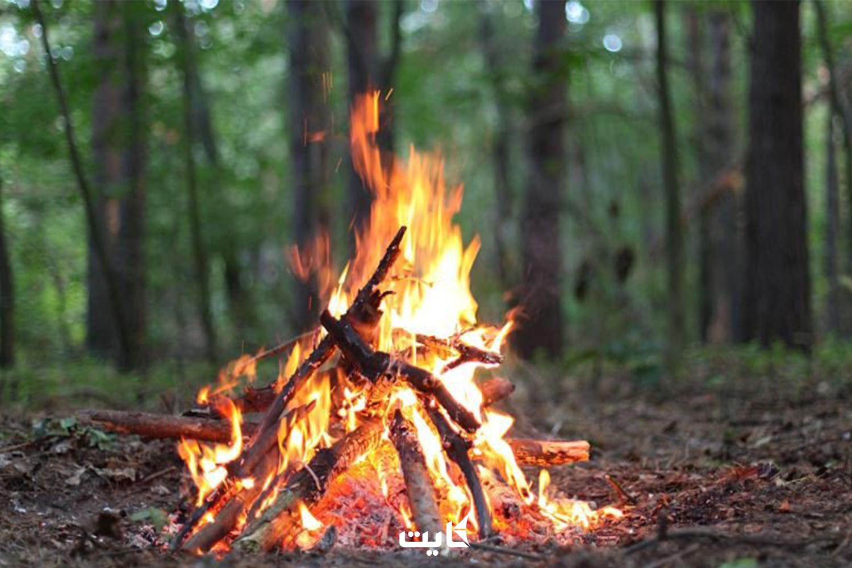 رعایت نکات لازم برای خاموش کردن آتش در طبیعت