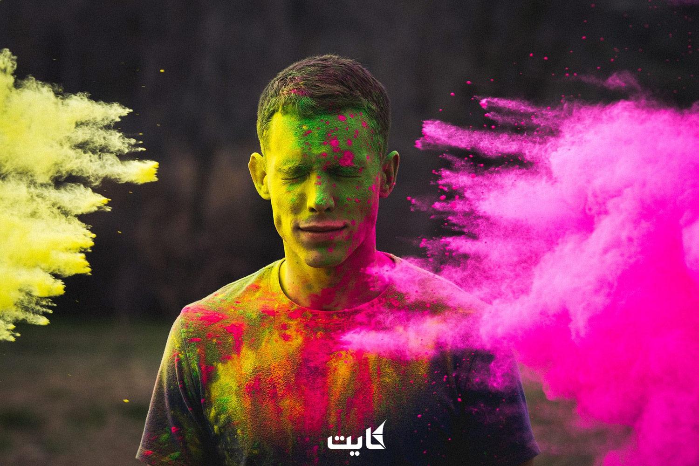برگزاری جشن رنگها در دبی امارات