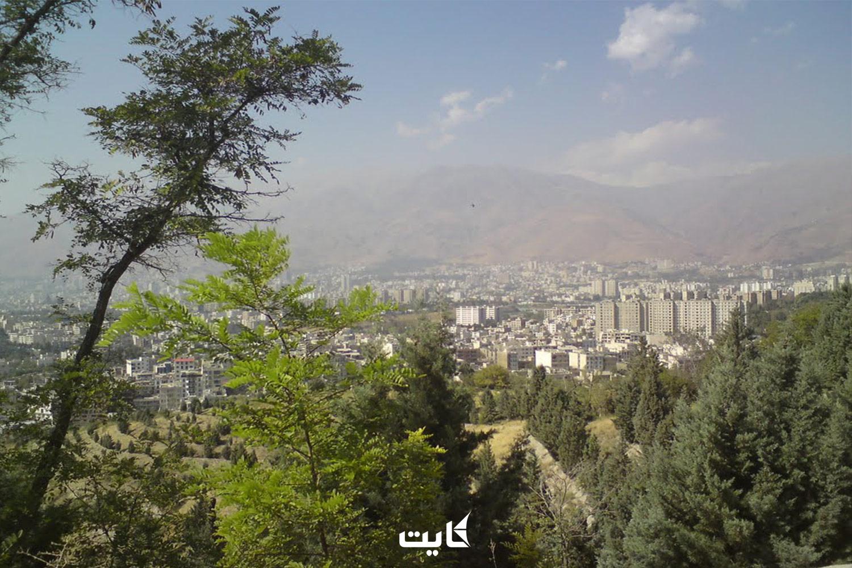 سیزده بدر در پارک جنگلی لویزان تهران