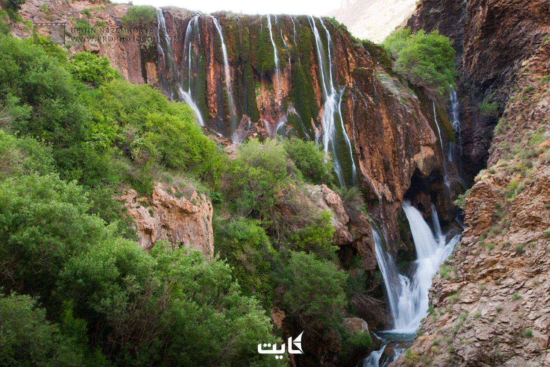 معرفی آبشار پونهزار