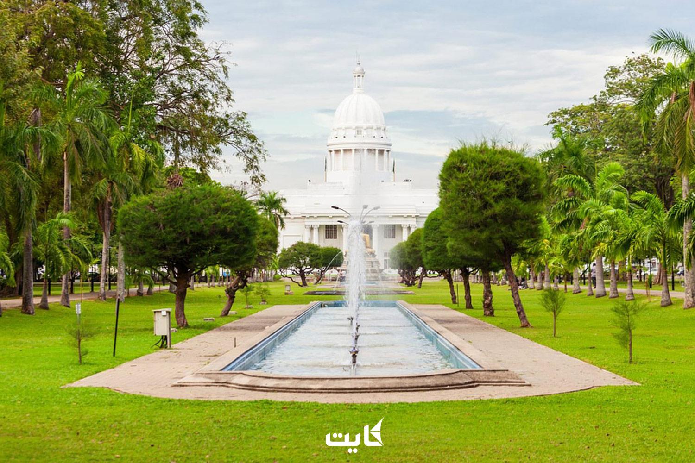 معرفی پارک Viharamahadevi