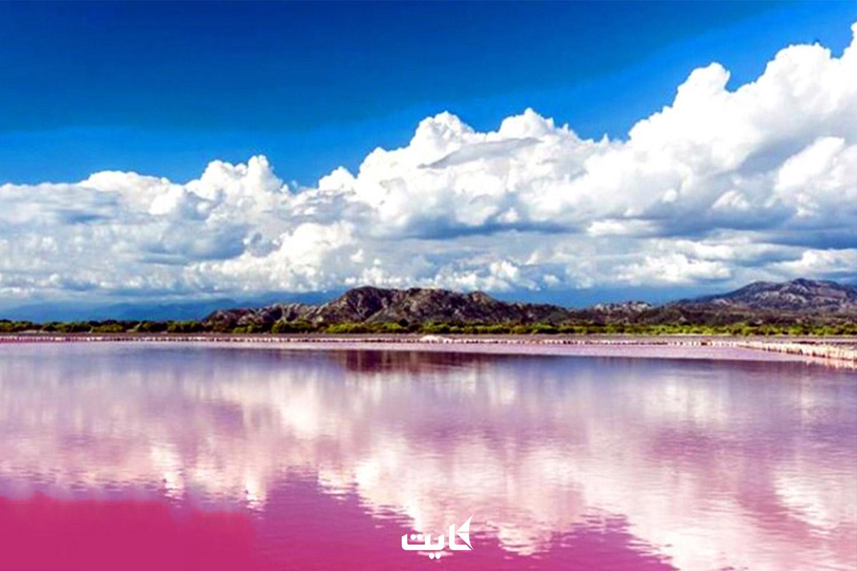 معرفی دریاچه صورتی لیپار چابهار