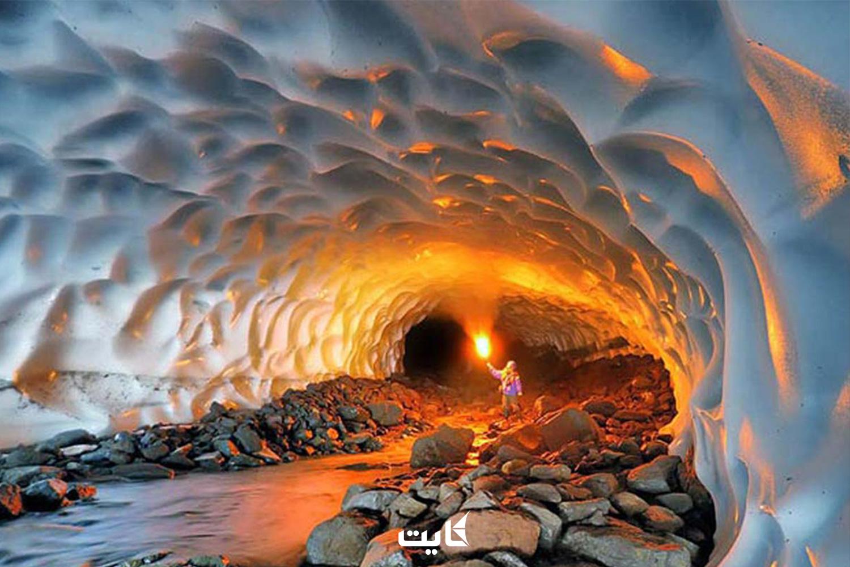 معرفی تونل برفی ازنا