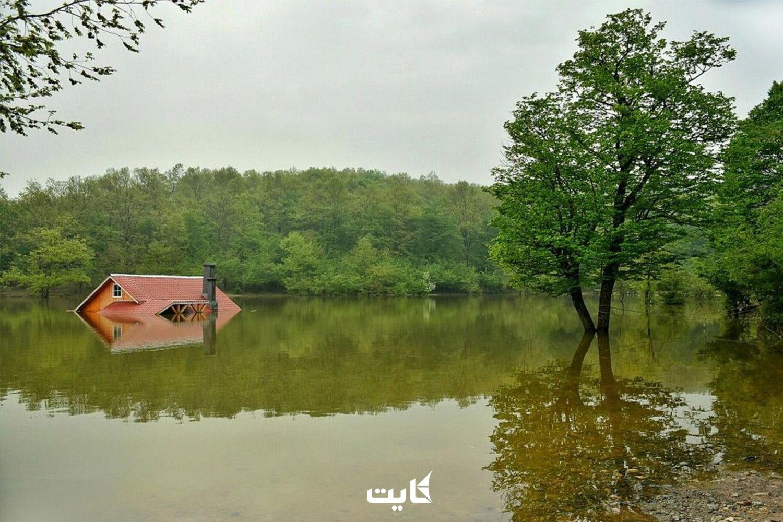 معرفی دریاچه سقالکسار