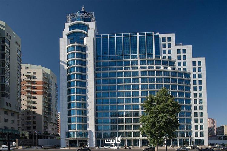 ورزشکارای تور باکو به طبقه 16 هتل قفقاز برن