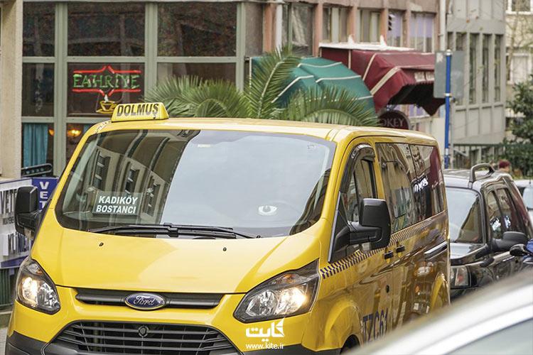تاکسی های خطی استانبول