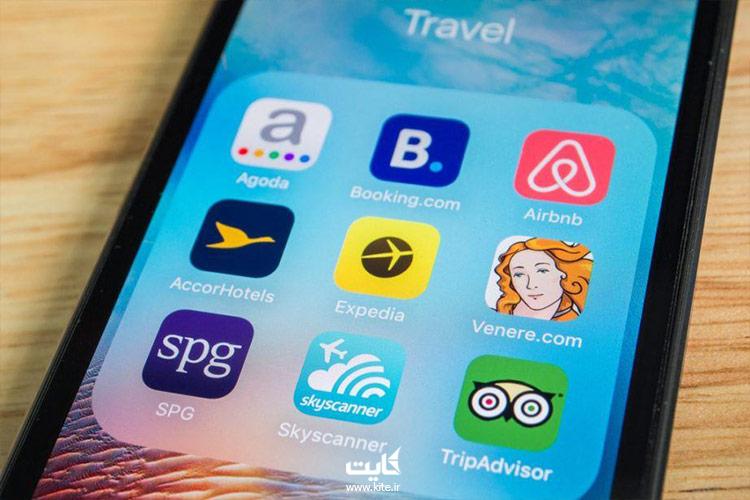استفاده از اپلیکیشن های کاربردی برای داشتن برنامه سفر در تعطیلات