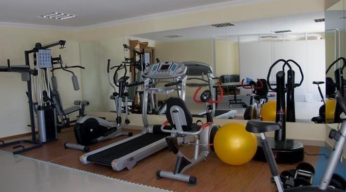 Beaumonde Garden Hotel.  gym