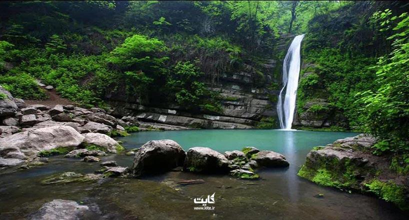 آبشار شیر آباد کجاست؟ آشنایی با آبشار شیرآباد گلستان