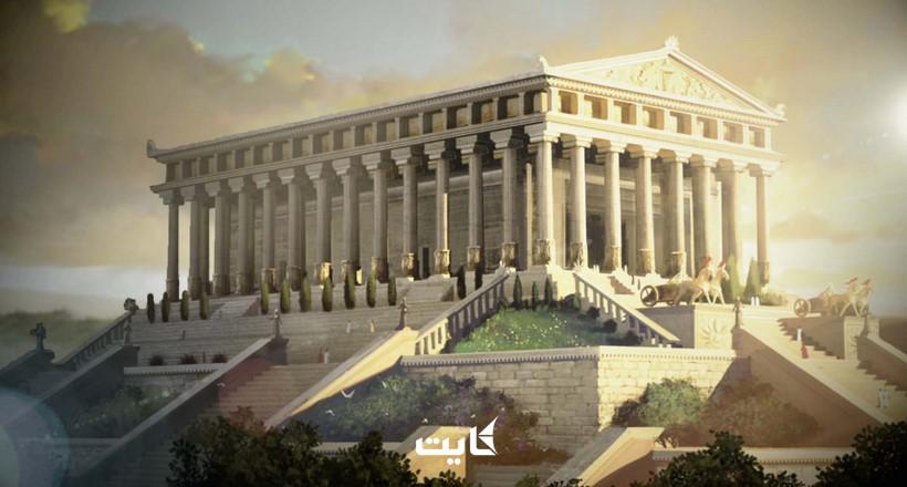 معبد آرتمیس در افه سوس کوش آداسی | یکی از عجایب 7 گانه