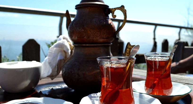 بهترین مکانهای استانبول برای خوردن چای