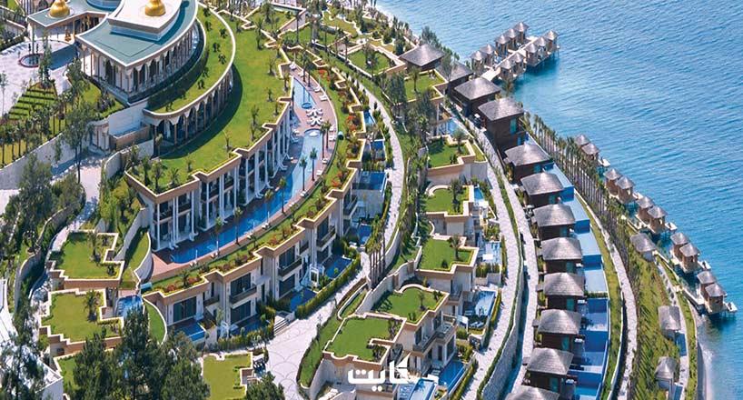 بهترین هتلهای بدروم ترکیه   10 هتل برتر بدروم