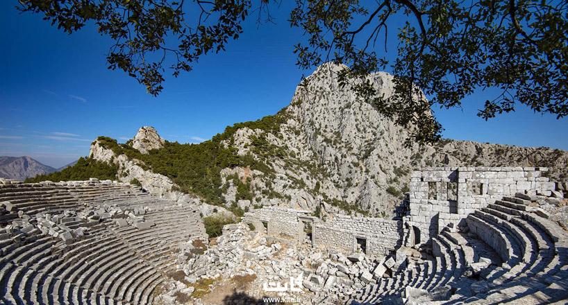 ترمسوس آنتالیا - آشنایی با ترمسوس در 34 کیلومتری آنتالیا
