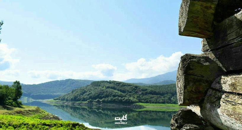 دریاچه لفور سوادکوه   تصاویر و راههای دسترسی
