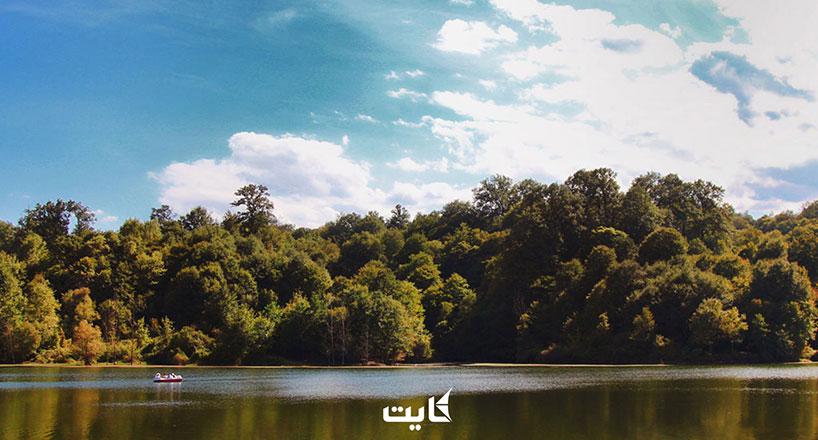 دریاچه الیمالات مازندران | تصاویر + راهنمای بازدید + آدرس