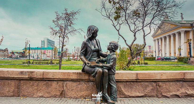 مجسمه مادر در کشورهای مختلف | بررسی 4 کشور دارای مجسمه مادر