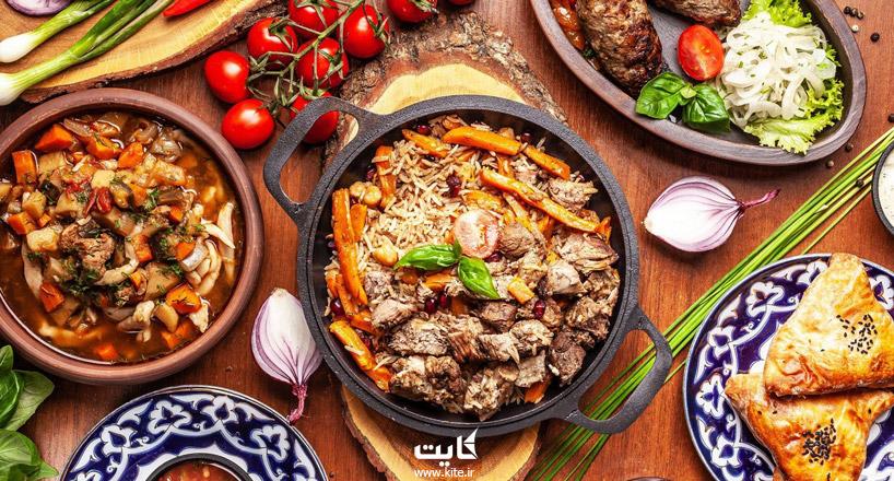 غذاهای سنتی باکو | معرفی بهترین غذاهای سنتی باکو آذربایجان