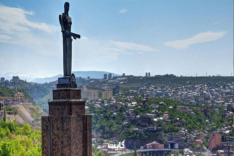 جاذبههای گردشگری ارمنستان رو با کایت ببین