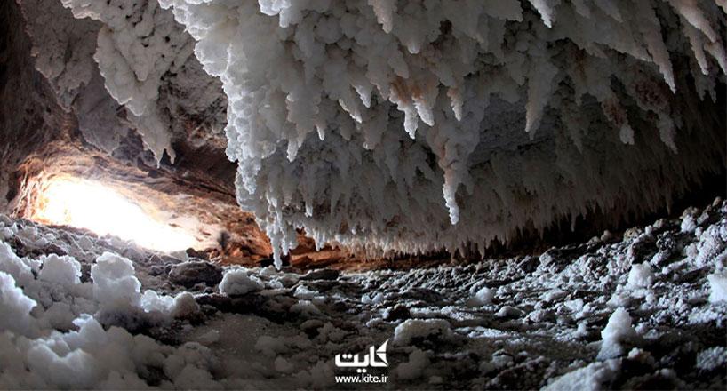 غار نمکدان، یکی از طولانیترین غارهای نمکی جهان