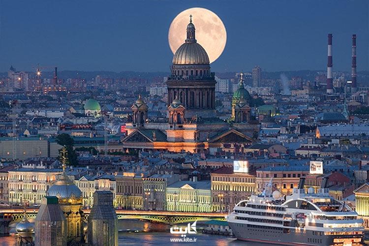 شب های سفید سن پترزبورگ با تور روسیه