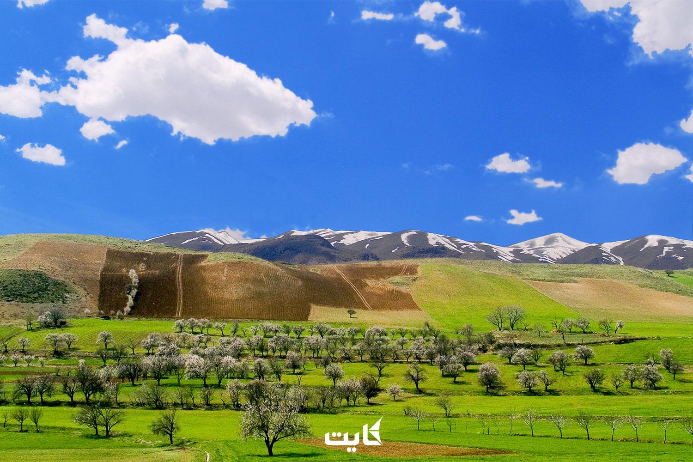 طبیعتگردی استان کردستان   12 مقصد طبیعتگردی در کردستان
