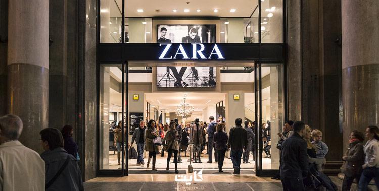 فروشگاه زارا استانبول در جمعه سیاه Black Friday